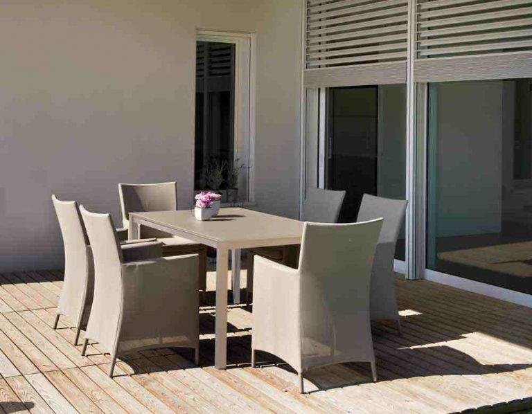 fauteuil de restaurant pour terrasse
