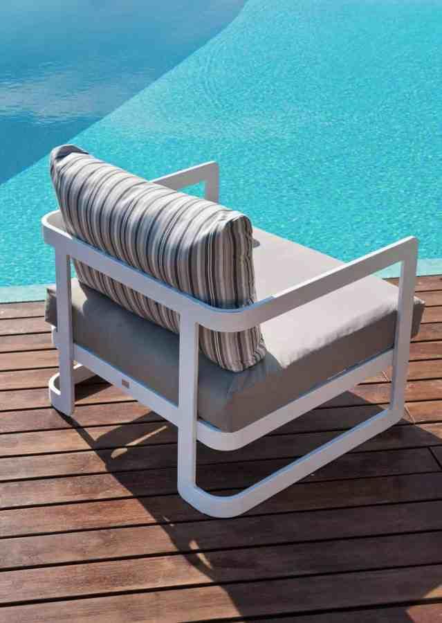 fauteuil en alu