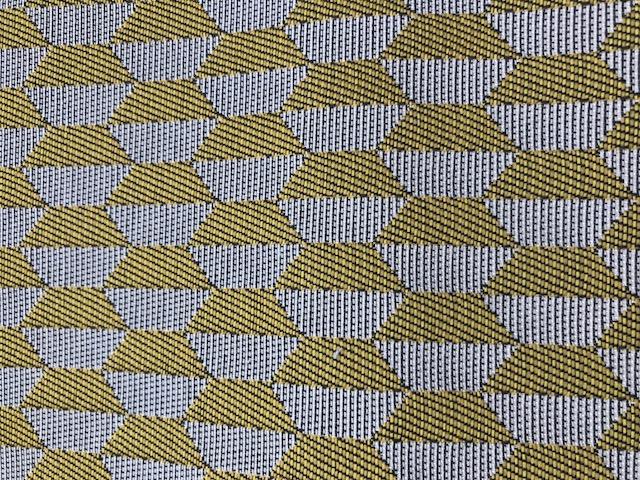 tissu à motif géométrique