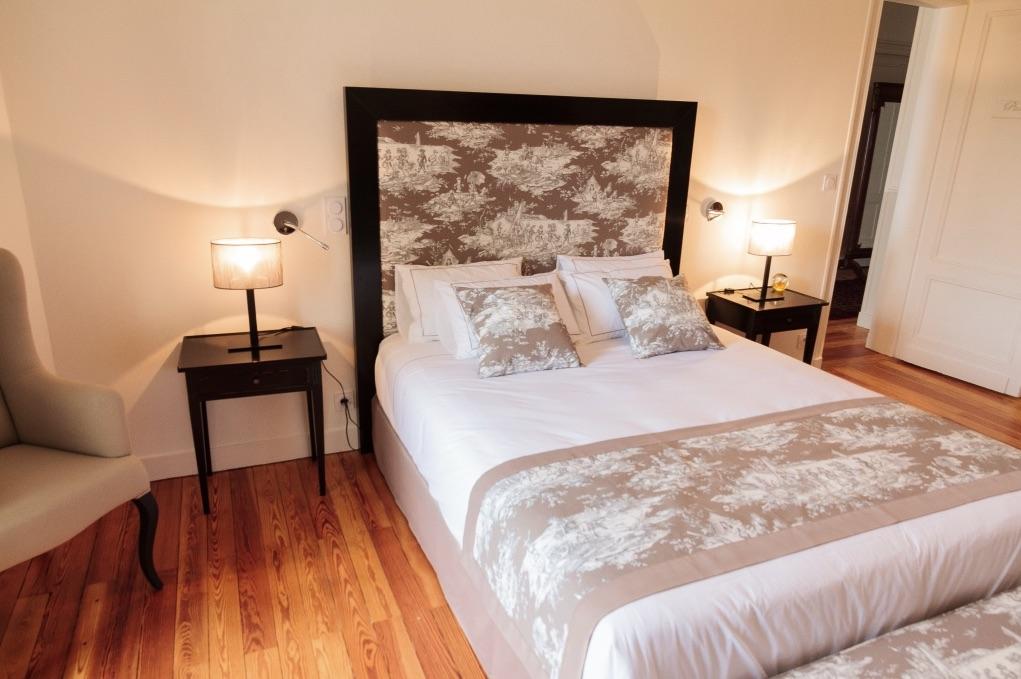 rénovation de chambre pour hôtel chateau hotel