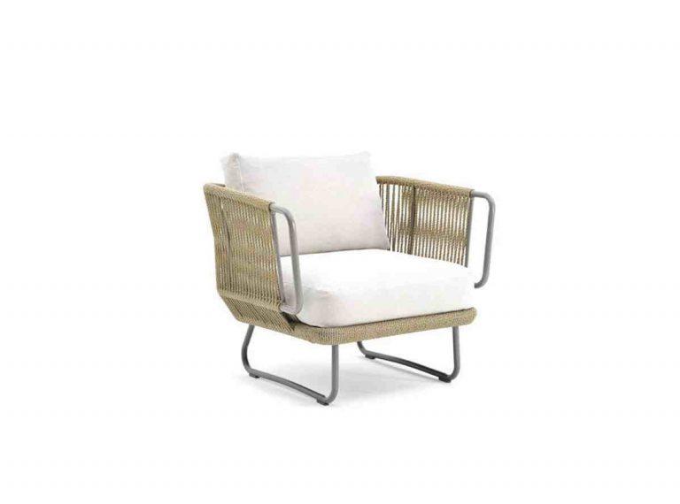 fauteuil d'extérieur en corde
