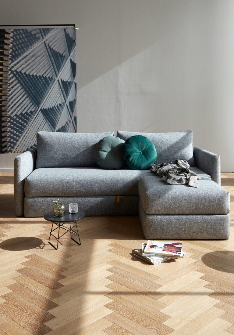 cora canapé-lit+pouf