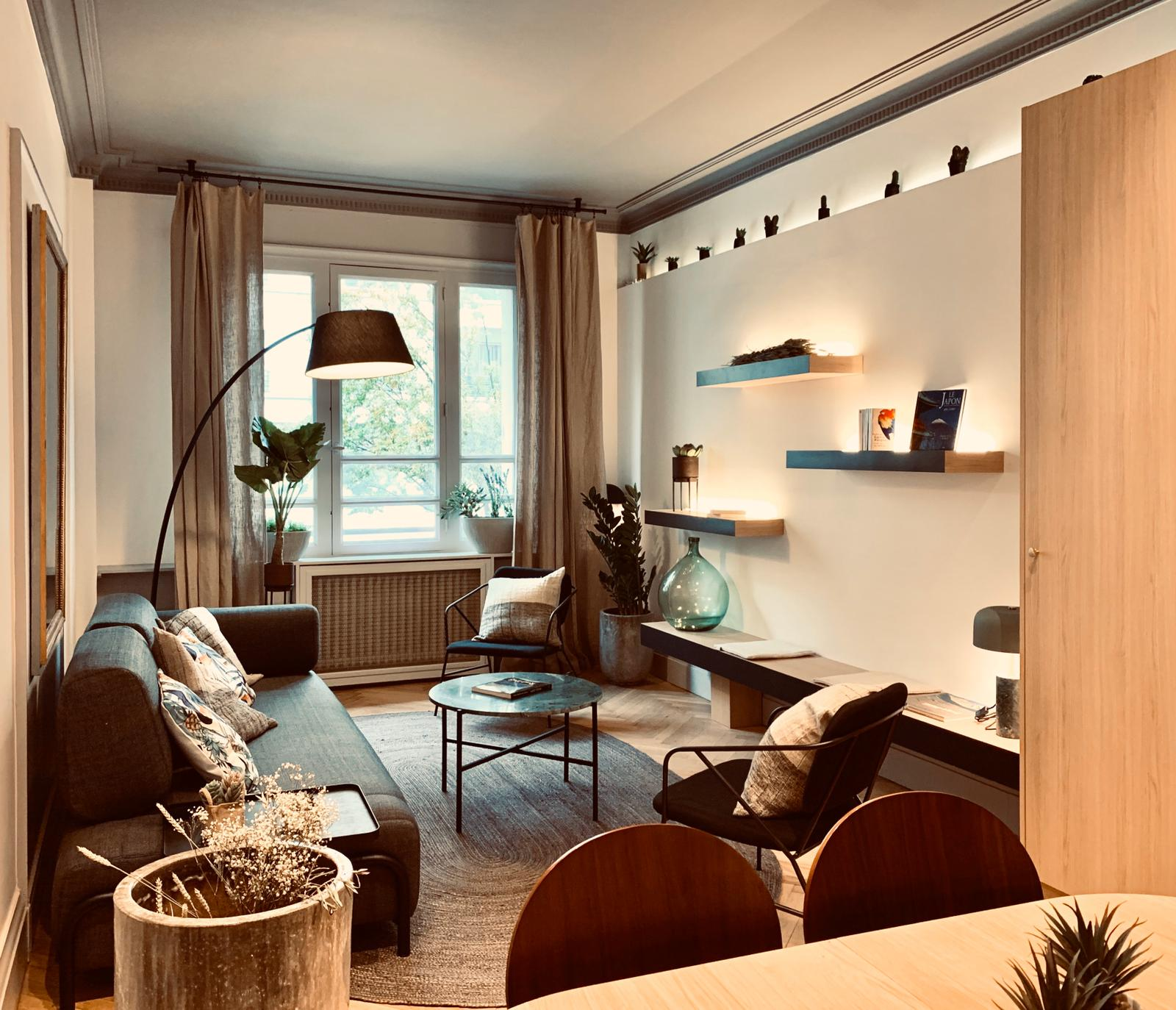 5 bonnes idées de décoration pour un appartement en location meublé.
